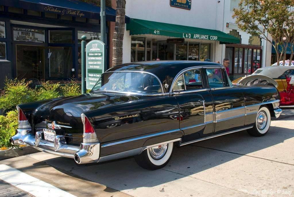 1955 Packard Patrician 4 door sedan - black - rvr