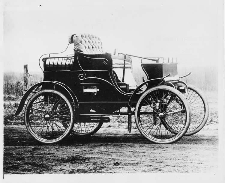 1899 PACKARD MODEL A - OLD NO. 1-NOV. 6, 1899