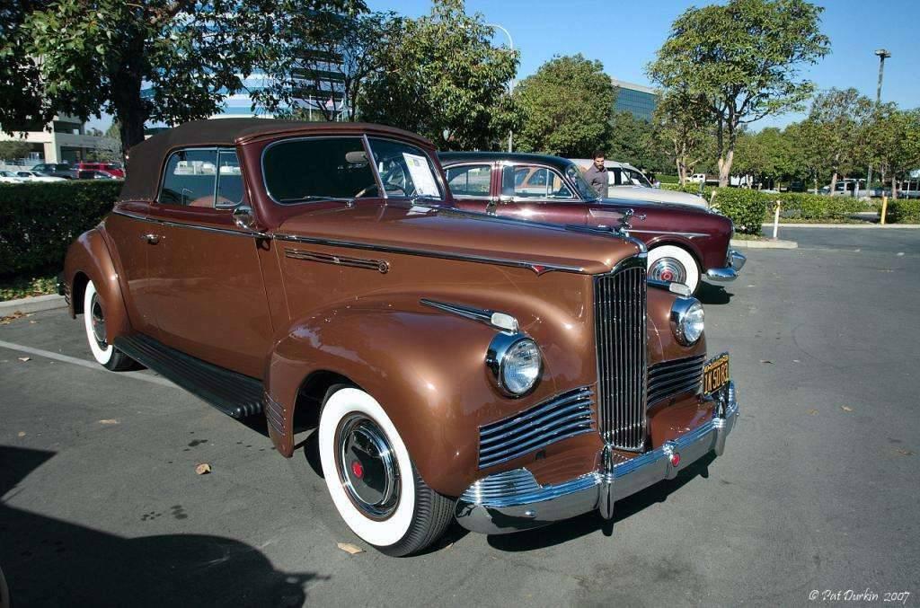 1942 Packard 110 convertible - fvr