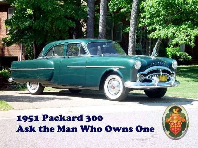 1951 Packard 300 Sedan