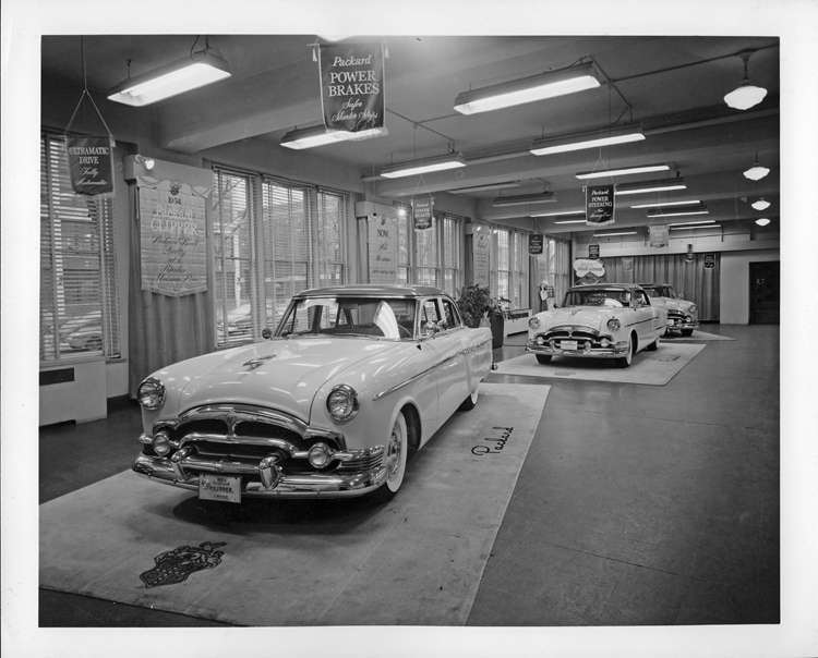 1954 Packard Factory Showroom