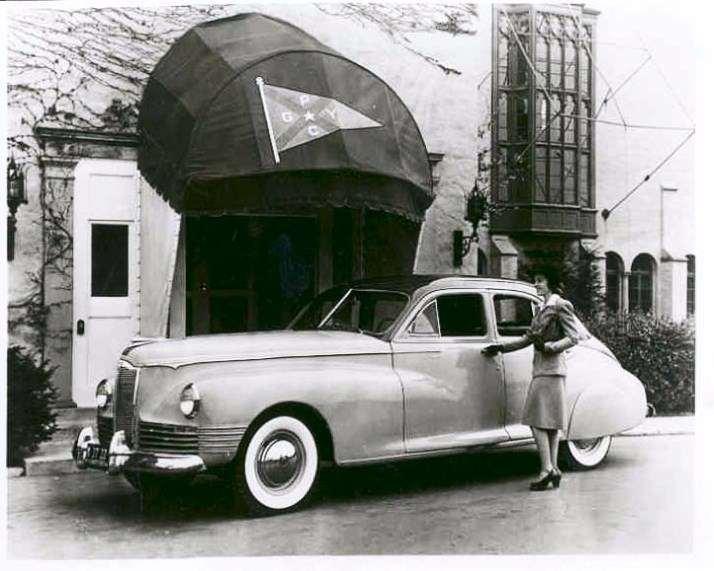 1942 PACKARD CLIPPER TOURING SEDAN-B&W
