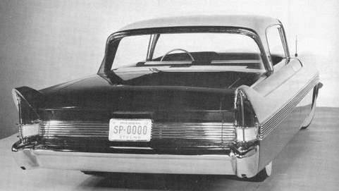 1957 PACKARD STYLING CONCEPT-B&W
