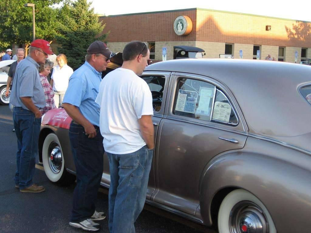 1941 Packard Clipper ~ Sr Citizen Car Show, Sioux Falls SD 9/08