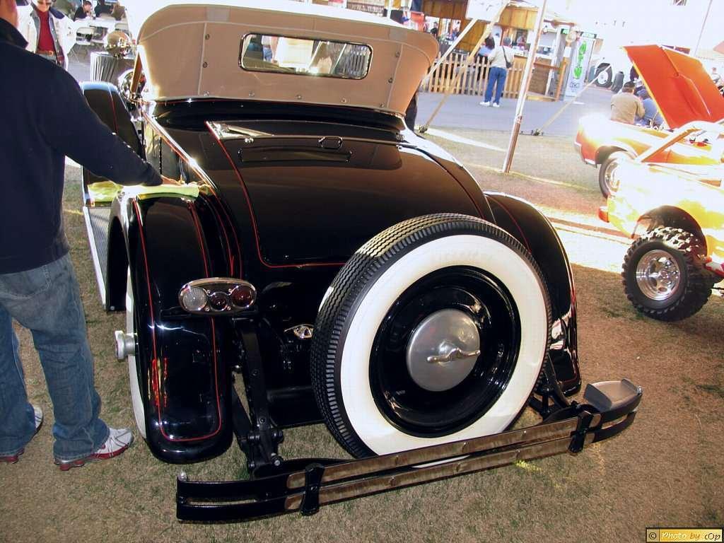 Packard 1926 Third Series 2dr rdstr Blk lrv