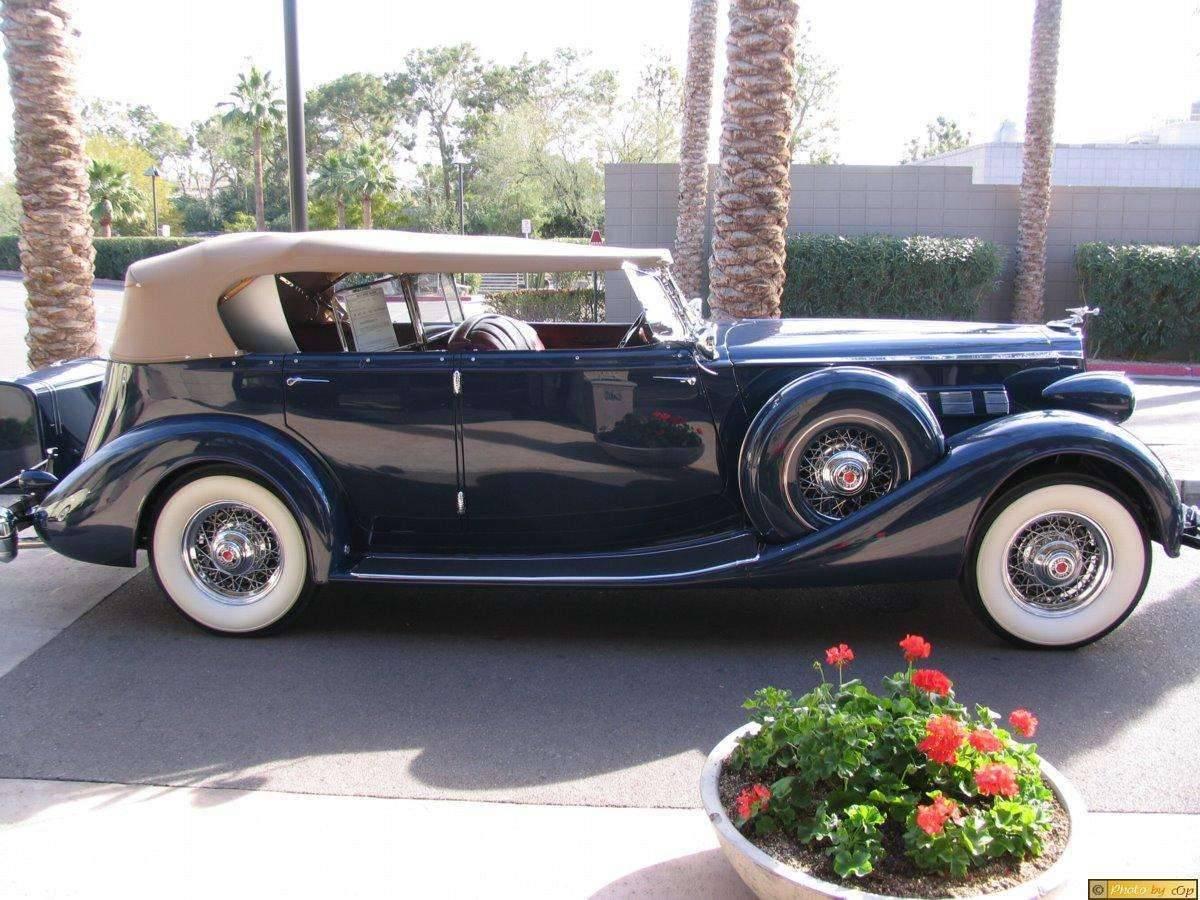 Packard 1936 Dual-Windshield Phaeton Blu rsv
