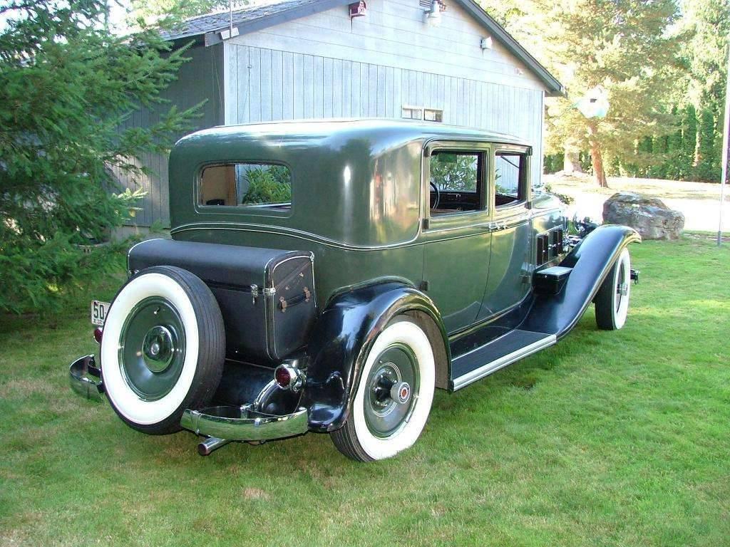 1932 Club Sedan