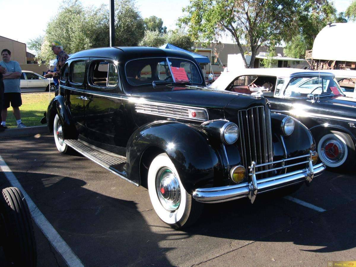 Packard 1939 Super Eight 4dr sdn Blk rsvf