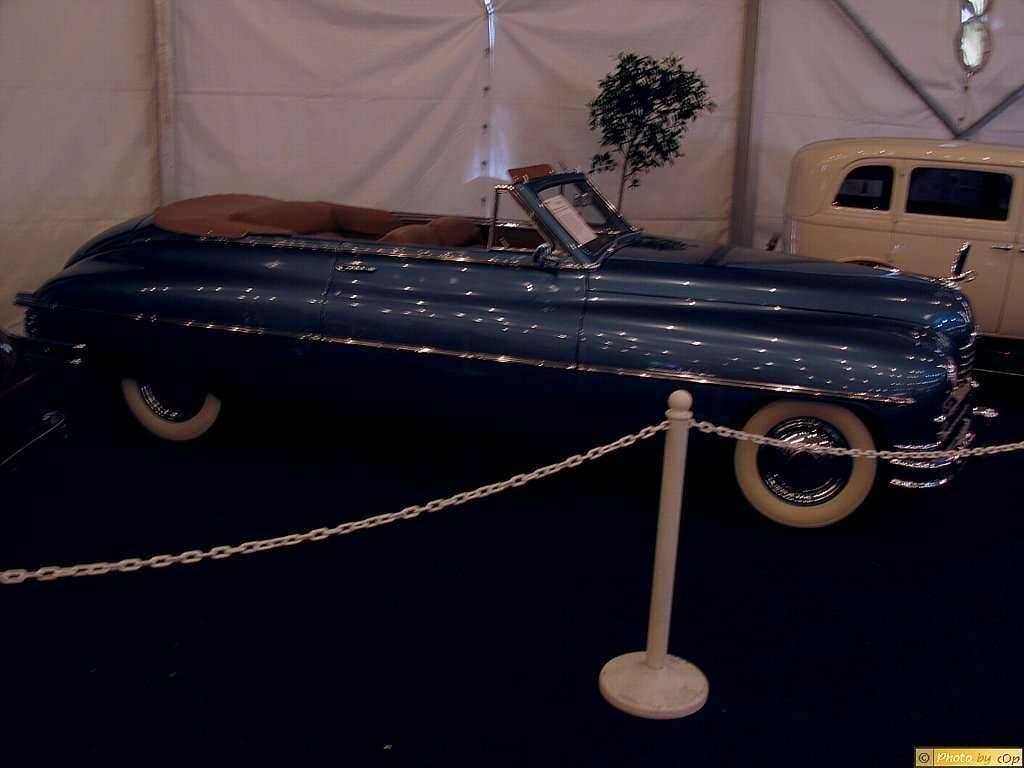 Packard 1950 Super DeLuxe 2dr cnvt Blu rsv