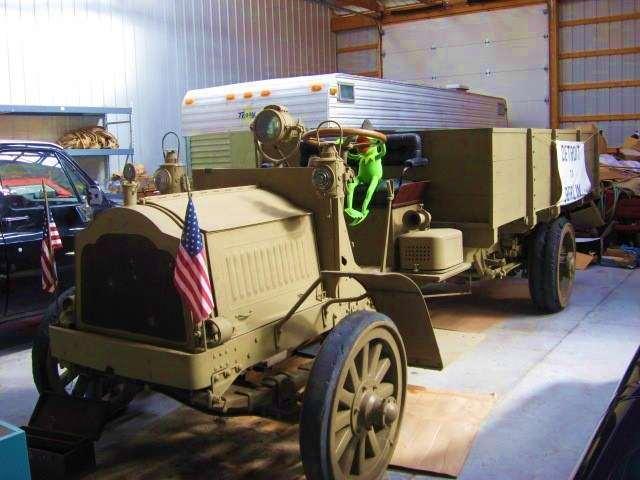1918 PACKARD MODEL E ARMY TRUCK