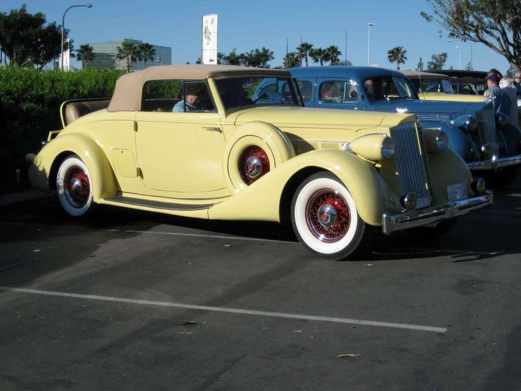 1936 Packard 1404 Super 8 Convertible