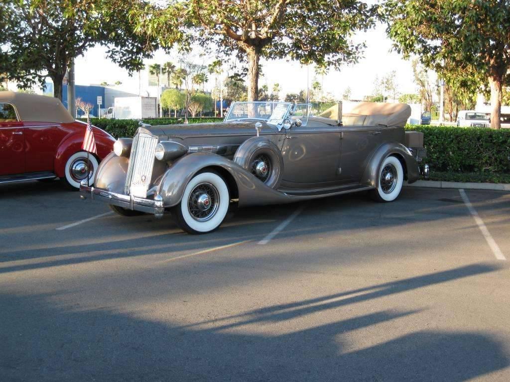 1936 Packard 1405 7 Pass Open Touring