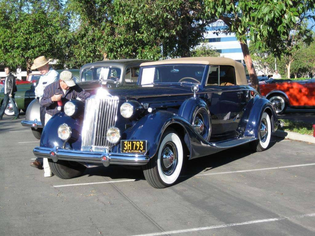 Packard motor car information 1937 packard 1507 twelve for 1937 packard 3 window coupe