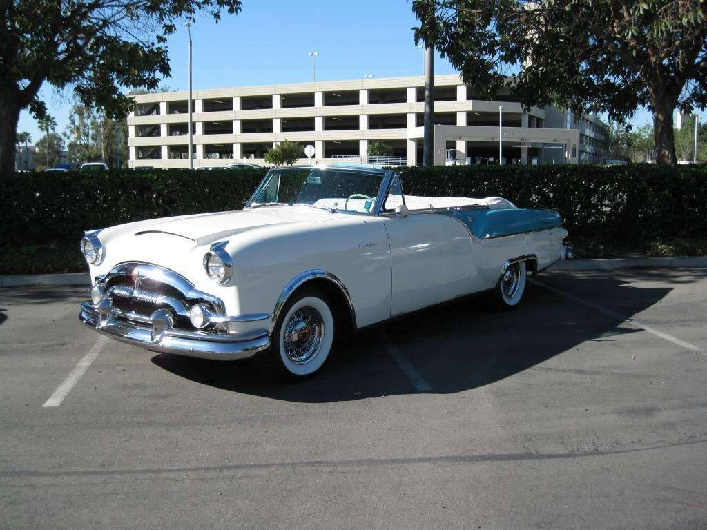 1954 Packard Caribbean White Turquois