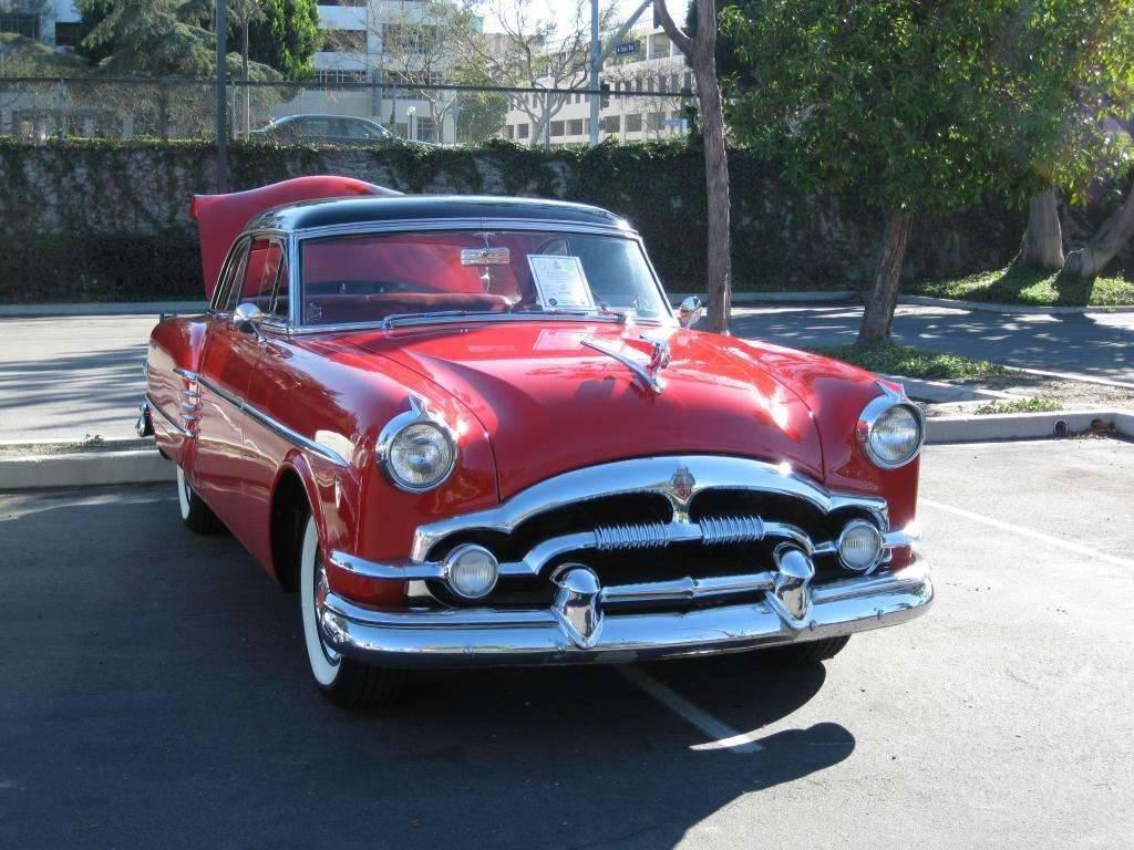 1954 Packard Mayfair Red Black