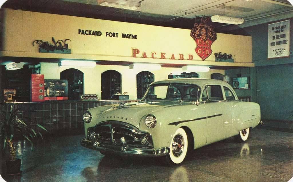 1951 PACKARD FORT WAYNE DEALER