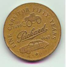 1949 PACKARD GOLDEN ANNIVERSARY COIN-B