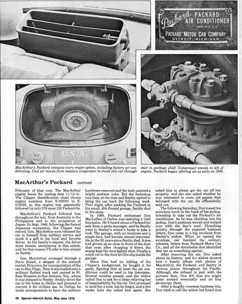 1942 PACKARD CLIPPER ARMY STAFF CAR ARTICLE-2
