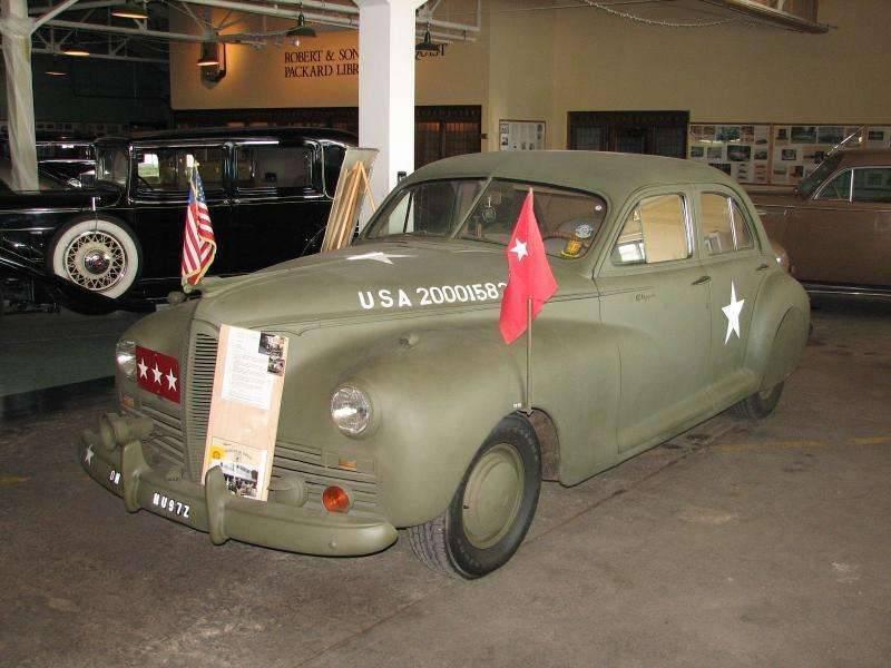 1942 PACKARD CLIPPER ARMY STAFF CAR-1