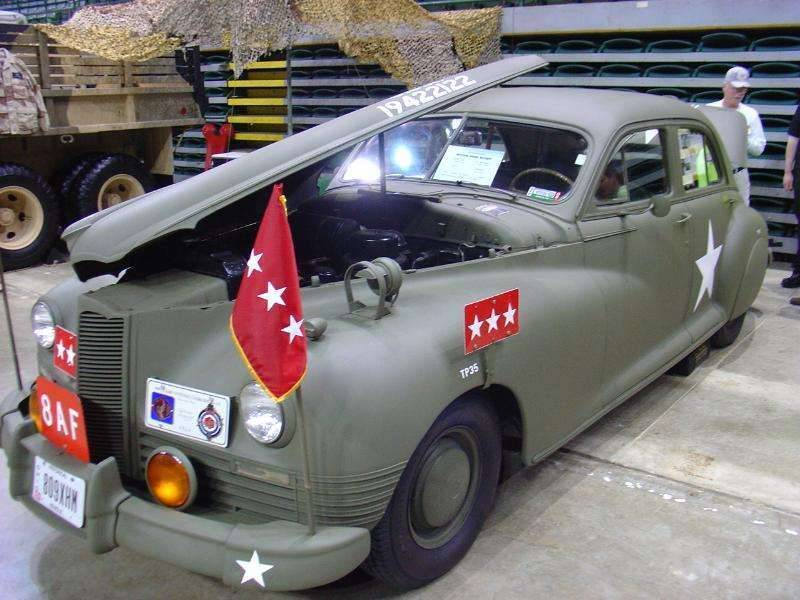 1942 PACKARD CLIPPER ARMY STAFF CAR-2