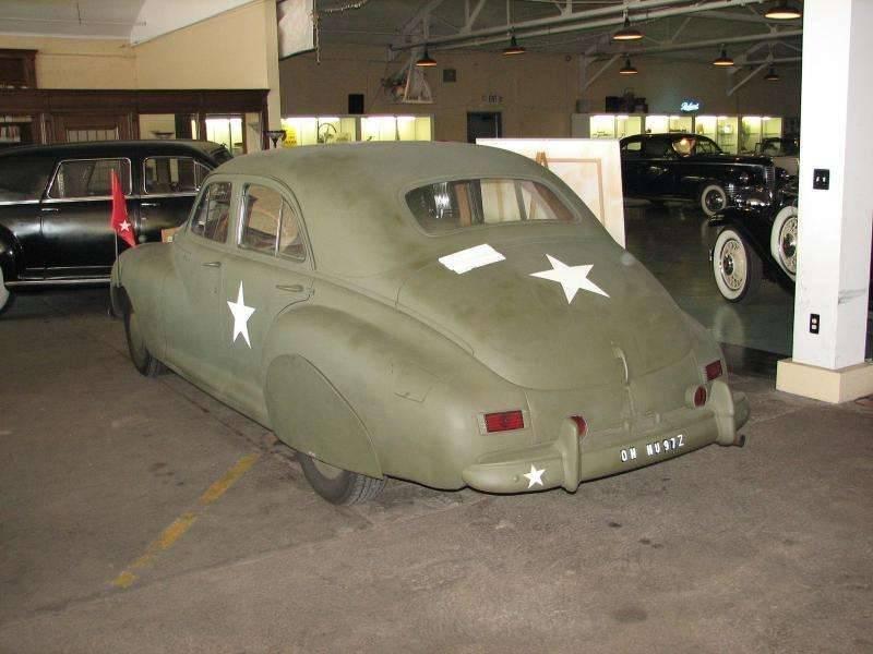 1942 PACKARD CLIPPER ARMY STAFF CAR-3