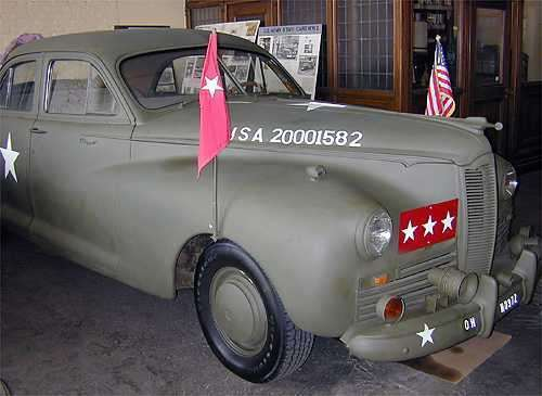 1942 PACKARD CLIPPER ARMY STAFF CAR-4