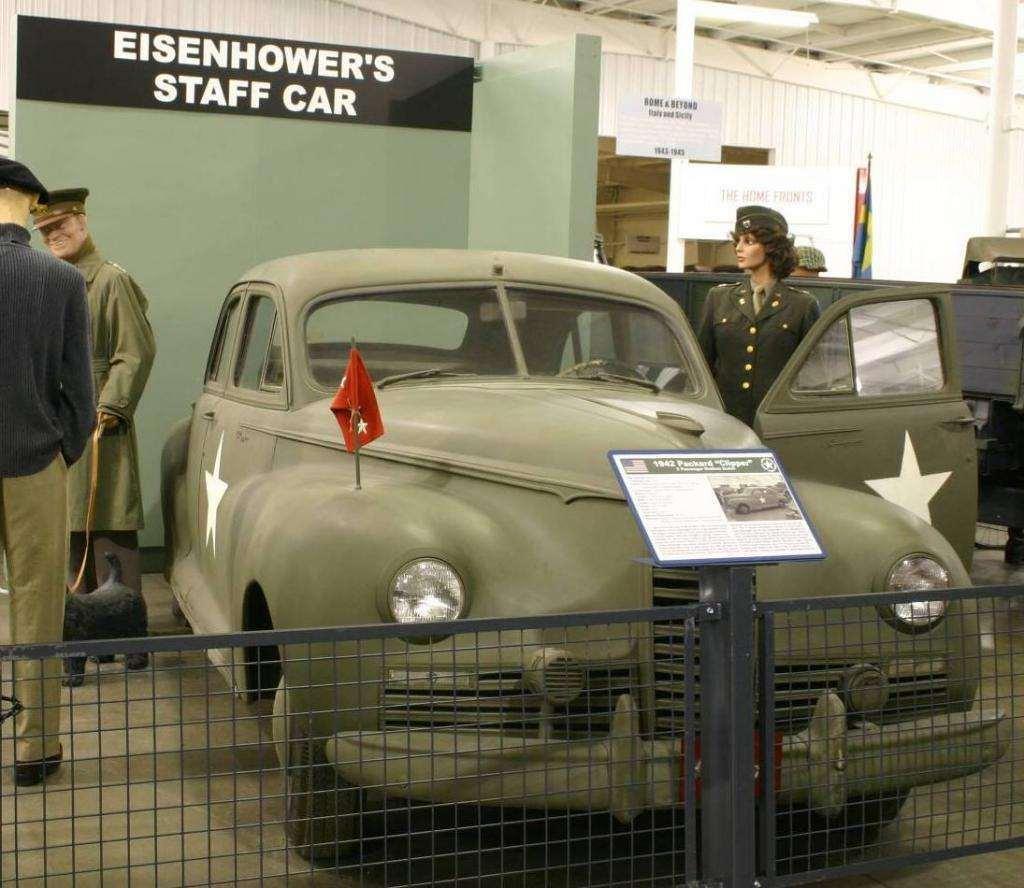 1942 PACKARD CLIPPER ARMY STAFF CAR-5