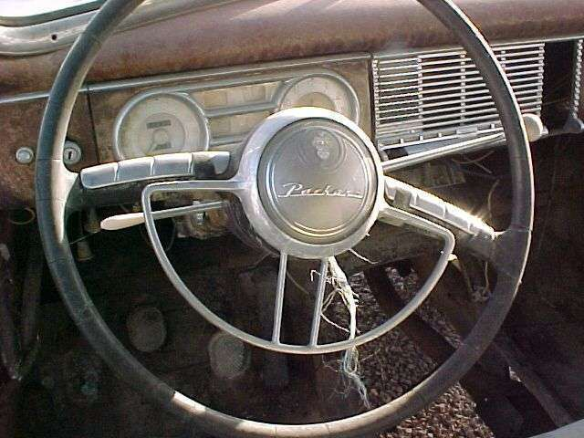 1948-49 PACKARD-HENNEY CUSTOM EIGHT HEARSE