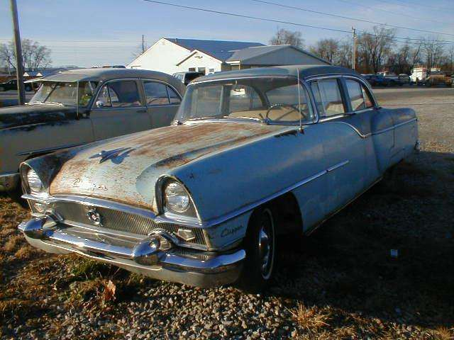 1955 PACKARD CLIPPER CUSTOM 4DR SEDAN