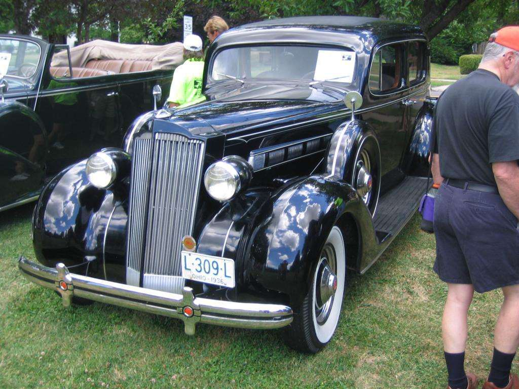 The plates say 1936