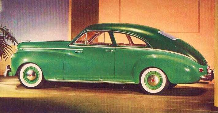 1942 PACKARD CLIPPER SPECIAL CLUB SEDAN