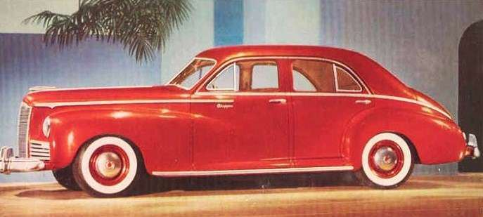 1942 PACKARD CLIPPER SPECIAL TOURING SEDAN