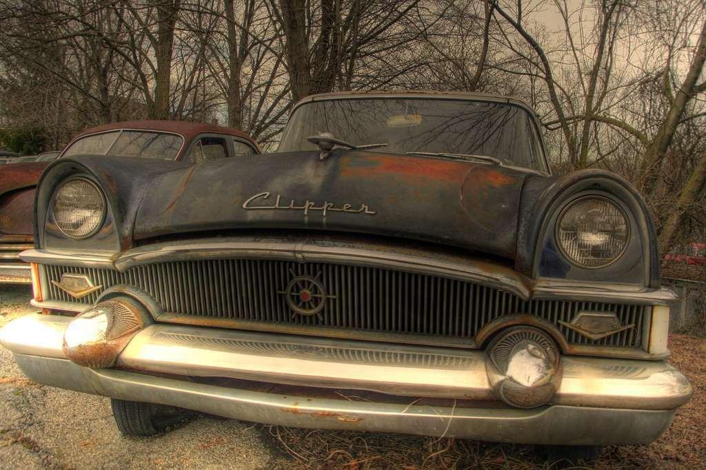 1955 PACKARD CLIPPER 4DR SEDAN-FRONT