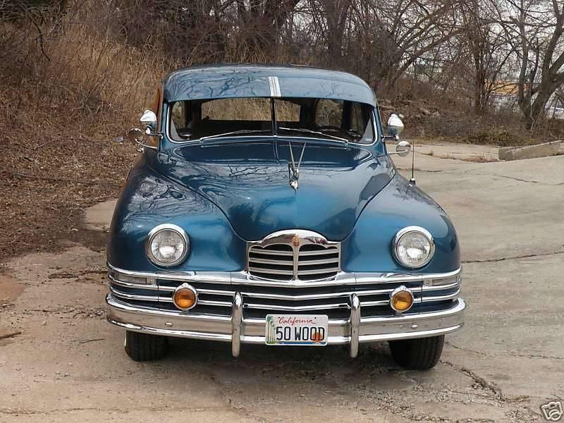 1950 PACKARD EIGHT STATION SEDAN-BLUE&WOOD