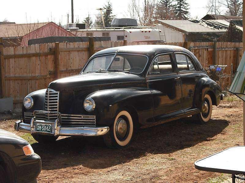 1946 PACKARD CLIPPER SIX 4DR SEDAN-BLACK
