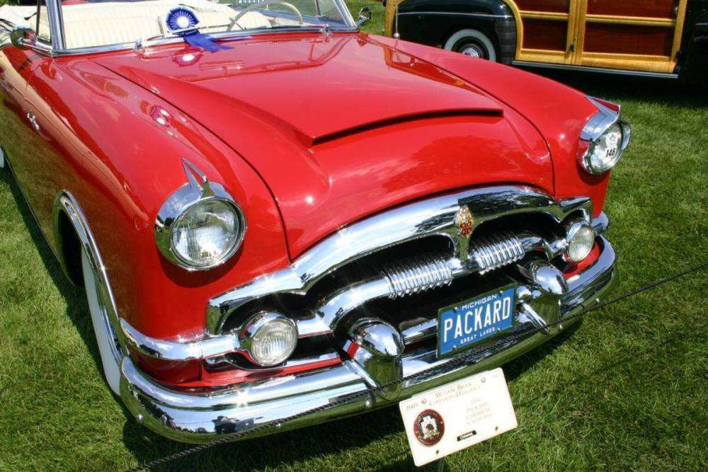 1954 PACKARD CARIBBEAN CONV-RED&WHITE