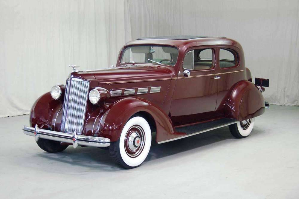 Packard motor car information 1937 packard 120c eight for 1937 packard 3 window coupe