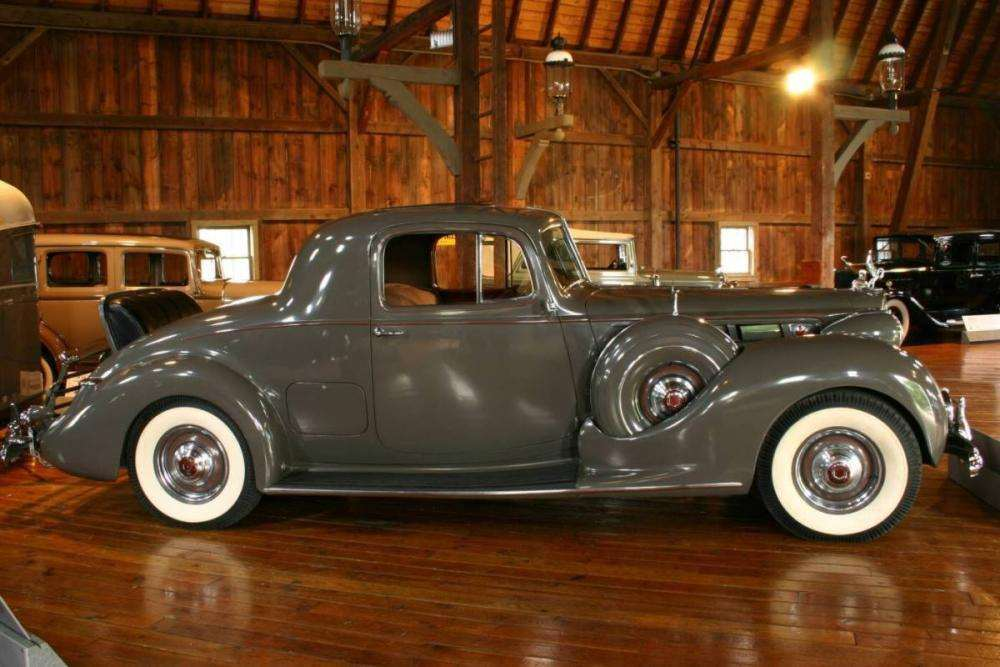 1939 PACKARD V12 RUMBLE SEAT COUPE-GRAY
