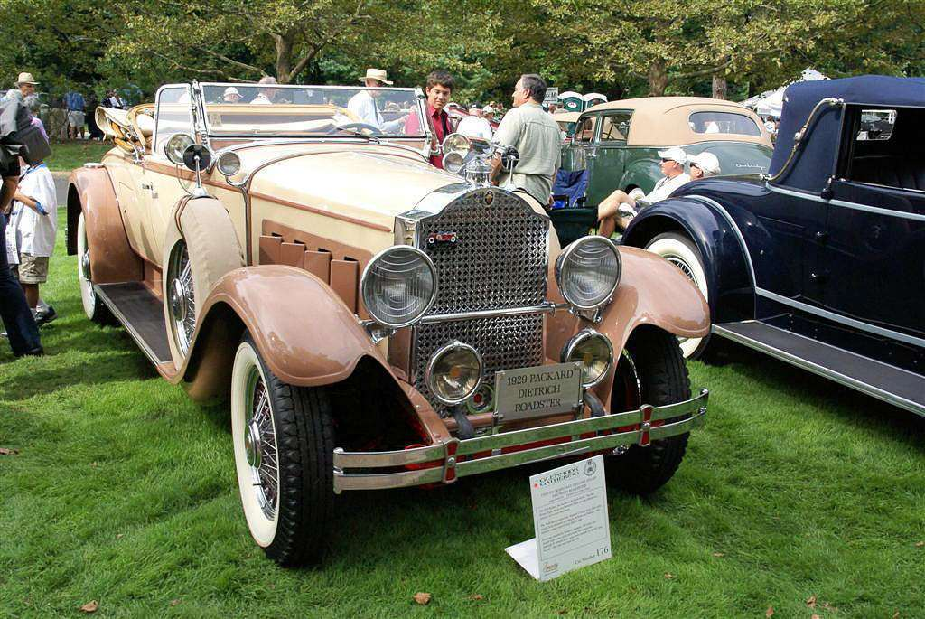 1929 PACKARD DELUXE EIGHT 645 ROADSTER BY DIETRICH