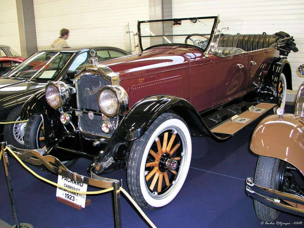 1923 PACKARD SINGLE SIX TOURING