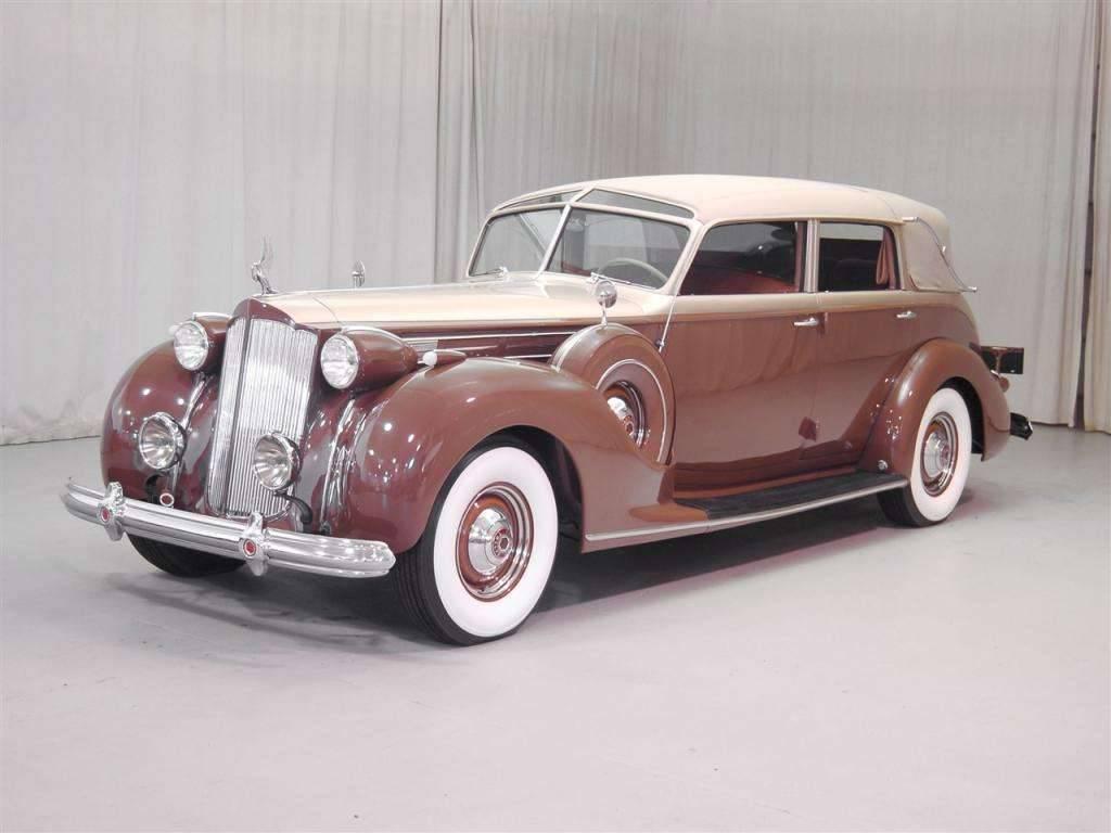 1939 PACKARD V12 LANDAULET BY BRUNN
