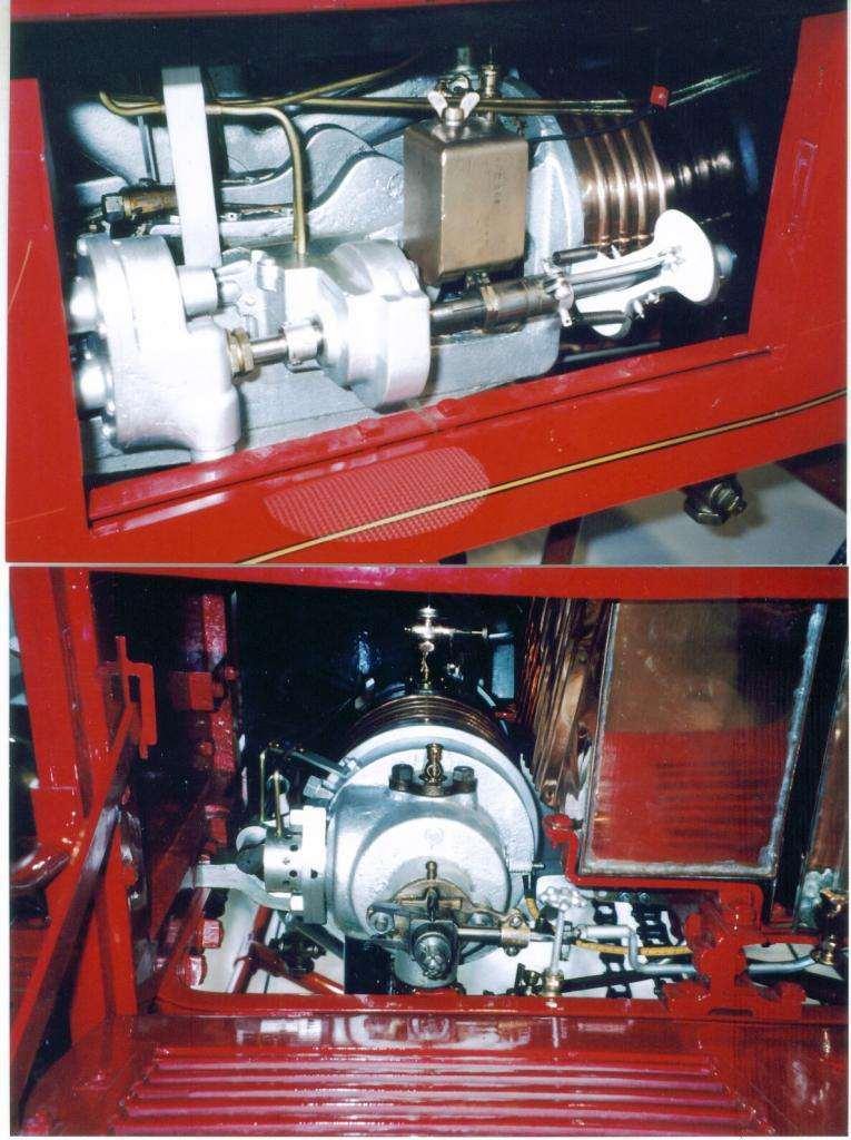 1901 Model C engine details 2