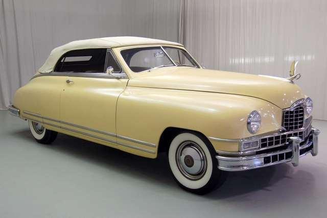 Williej's 1948 Custom 8 Victoria Convertible