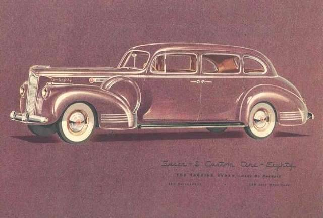 1941 PACKARD SUPER EIGHT CUSTOM 180 TOURING SEDAN
