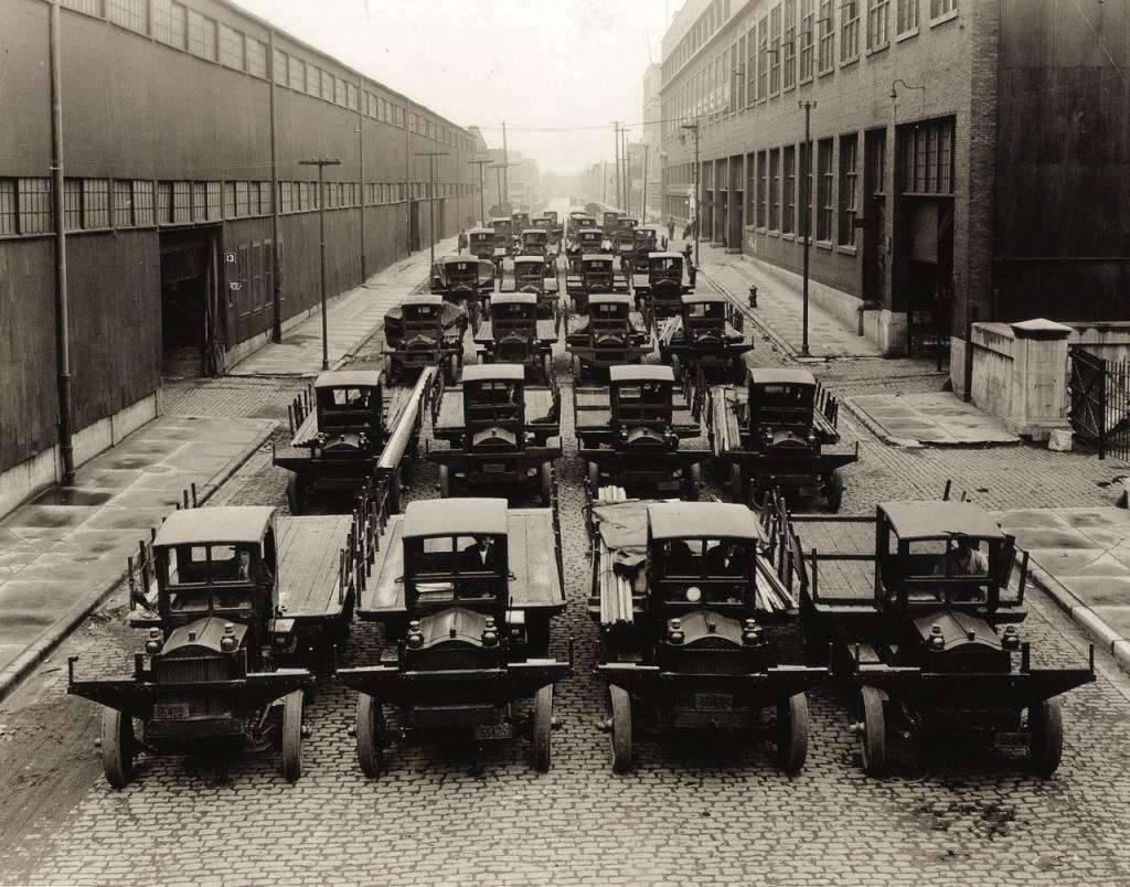 Fleet of Delivery Trucks