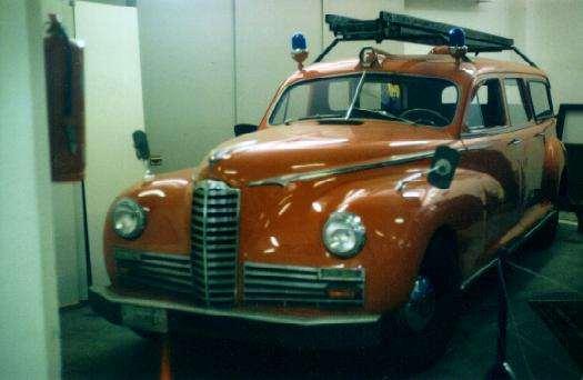 1946 PACKARD 21ST SERIES CLIPPER SWISS FD CREW CAR BY BRAENDLI  WIL