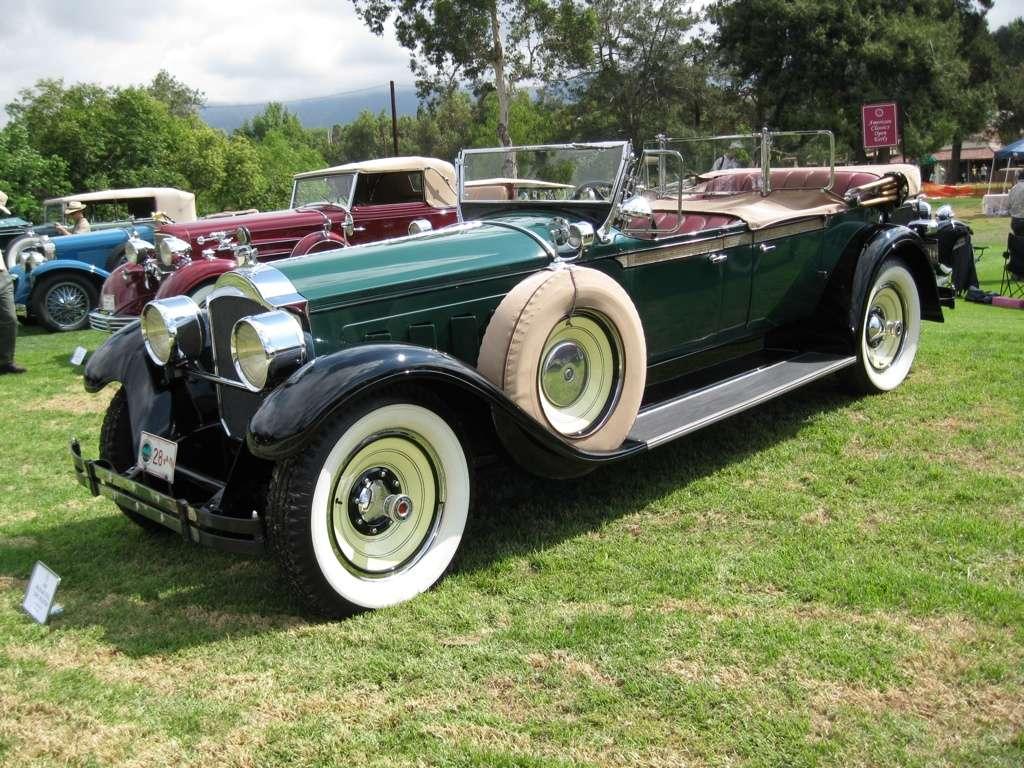 Packard 1928 Dual Cowl Phaeton