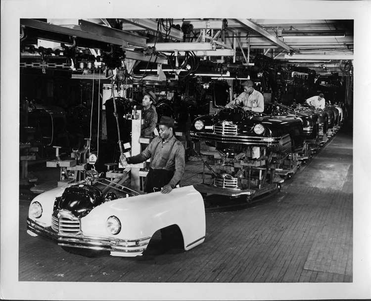 1949 Packard Assembly Line