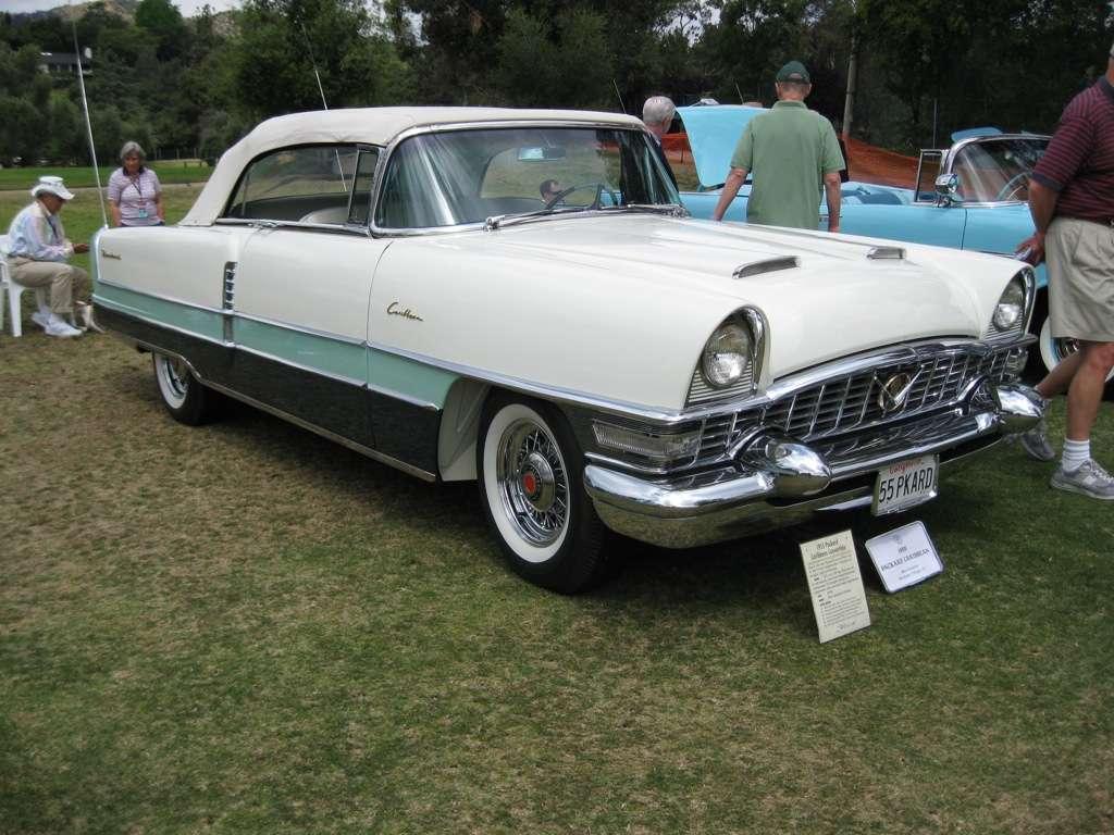 Packard 1955 Caribbean 5588-1469 Pass Front