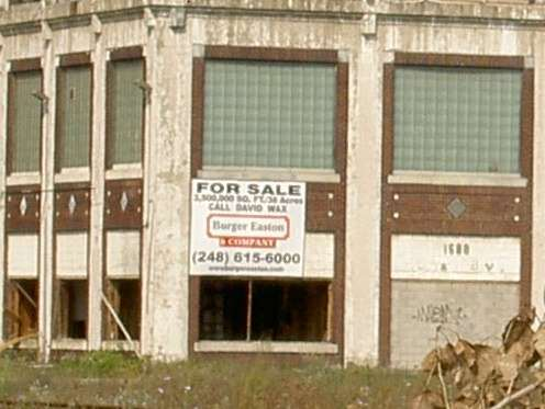 Packard Plant For Sale!